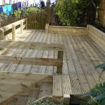 Decking & Safety Fence